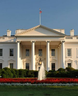 The White House in Washington DC. Photo by: Cezary p.