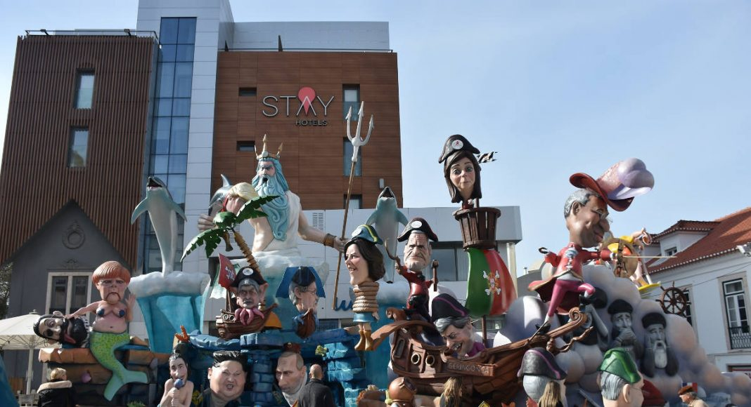 A Portuguese carnival with Angela Merkel, Trump, Putin, and more. Photo by: Torres Vedras City Hall.