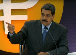 Maduro about the Petro on state TV on Feb. 2.