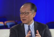 World Bank Group President, Jim Yong Kim, in an interview for Telemundo in Uruguay.