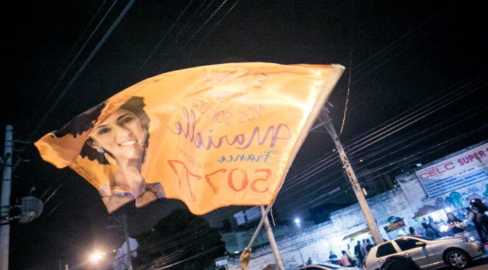 Marielle Franco (PSOL) election, Brazil. Photo by: Mídia NINJA.
