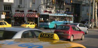 Taxi in Istanbul, Turkey. Photo by: Leandro Neumann Ciuffo.