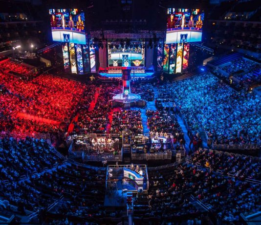 eSports live event. Photo by: BagoGames