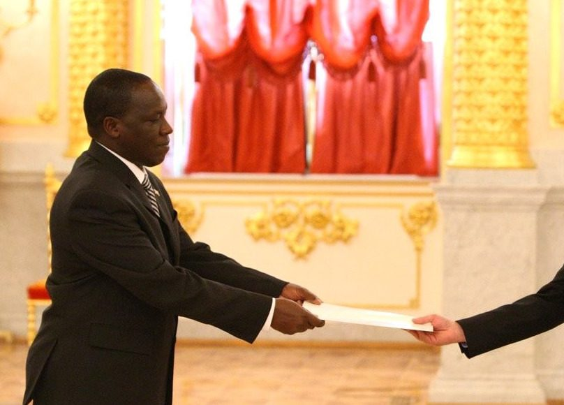Kenyan Paul Kibiwott Kurgat. Photo by Kremlin.ru