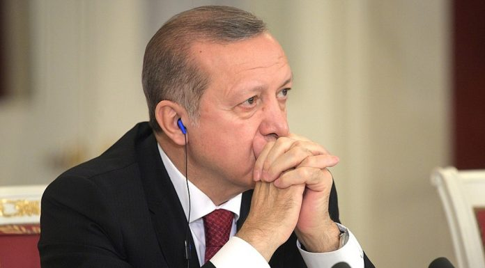 President of Turkey, Recep Tayyip Erdogan. Photo by : kremlin.ru.