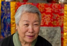 Jetsun Pema, Sister of the 14th Dalai Lama. Photo by: Matthias Schickhofer.