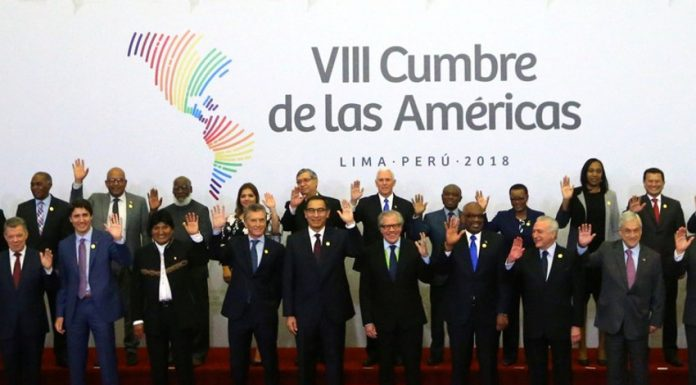 8th Summit of the Americas.