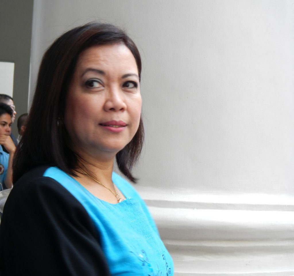 Maria Lourdes Sereno, Chief Justice of the Supreme Court of the Philippines. Photo by: Ramon FVelasquez.
