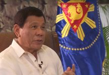 Philippines president Rodrigo Duterte.