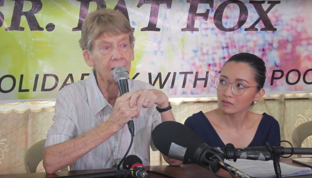 Patricia Anne Fox statement after she was given 30 days to leave the Philippines.