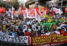 Labor day in Manila, Philippines.