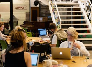 Serbian coworking space. Photo by: Impact Hub - Belgrade