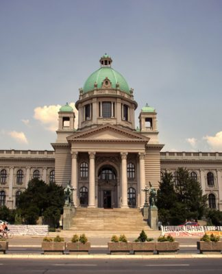 National Assembly of Serbia in Belgrade. Photo by: Jovan Marković.