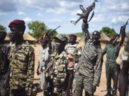 Sudan People's Liberation Army near South Sudan capital, Juba. Photo by: Jason Patinkin.