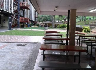 Empty Education. Caracas Central University. Photo by: Waraira repano & Guaicai puro.