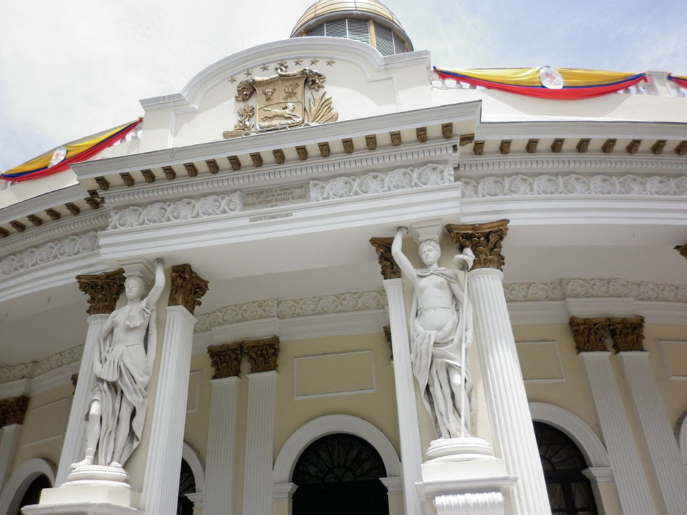 Venezuelan National Assembly in Caracas. Photo by: Javier Martinez.