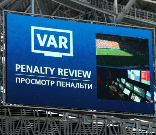 The Video Assistant Referee system, known as VAR, is soccer's first use of video technology to reach more accurate decisions.