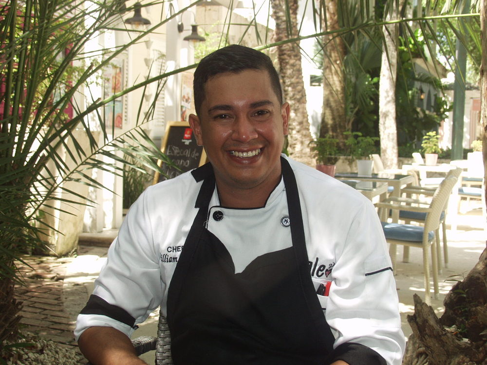 William Alberto Ramos is a Venezuelan immigrant in the Dominican Republic. Photo by: Joaquin Salazar.