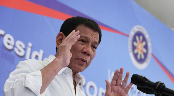 Philippines president, Rodrigo Duterte. Photo by: PCOO EDP.