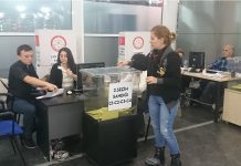 Airport ballot box in Ataturk, Turkey. Photo by: Sakhalinio.