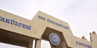 Ege Public university in Bornova, Turkey.