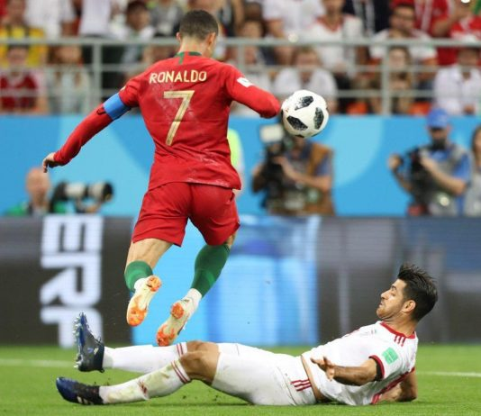 2018 World Cup match between Portugal and Iran. Cristiano Ronaldo. Photo by: Mahdi Zare/Fars News Agency.