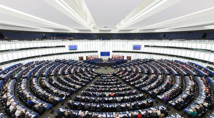 European Parliament in Strasbourg, Belgium. Photo by: David Iliff.