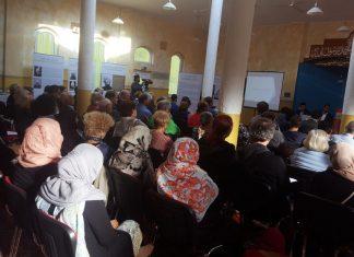 Muslim community- in koblenz, Germany. Women wearing hijab. Photo by: Tanveer