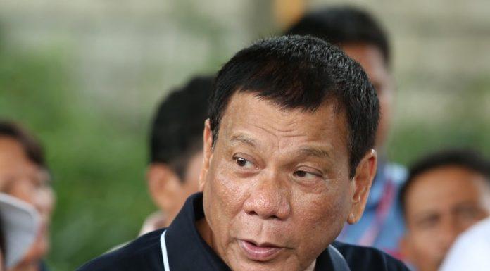 Rodrigo Duterte speech in Pampanga, Philippines. Photo by: PCOO EDP.