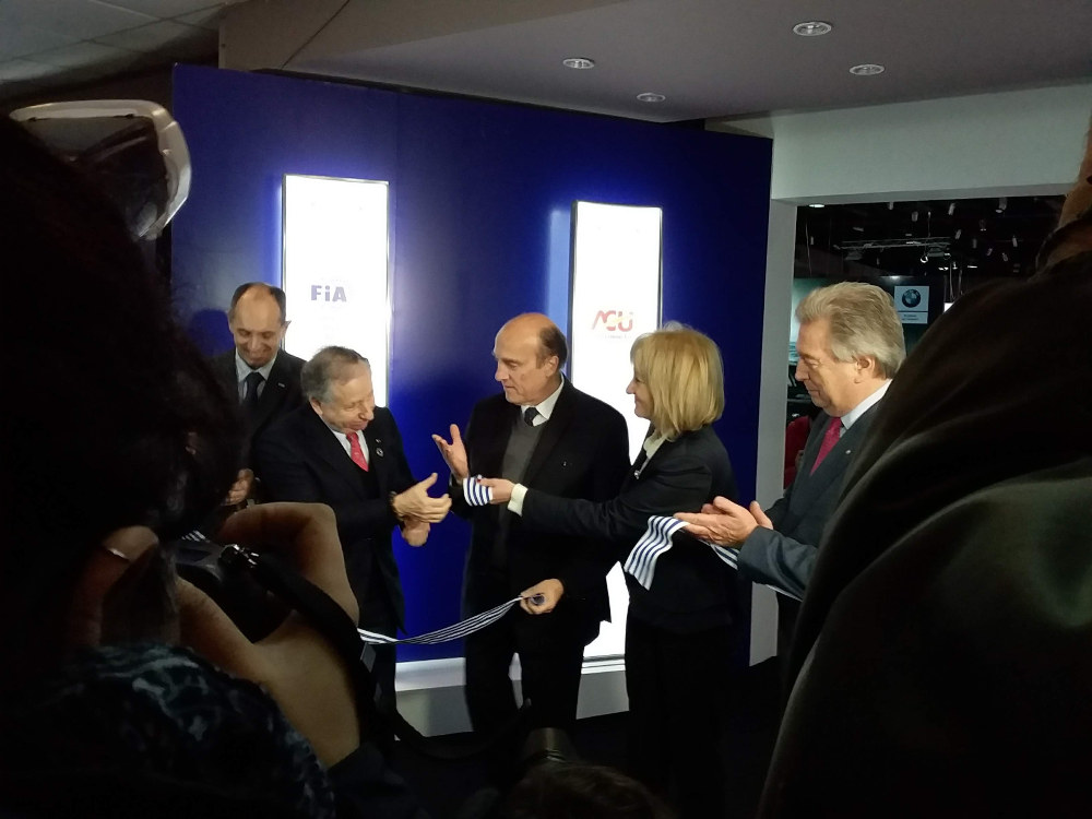 FIA President at the FIA Mobility Conference in Uruguay. Photo by: Cecilia Demartini.