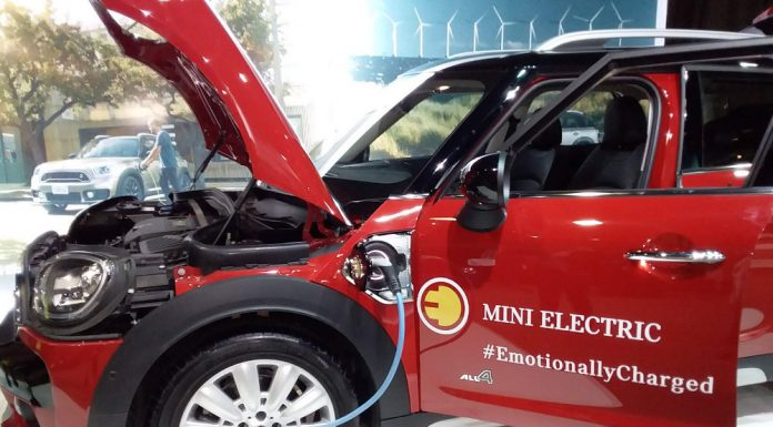 MINI Electric at the the FIA Mobility Conference in Uruguay. Photo by: Cecilia Demartini.