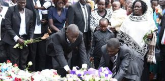 Country leaders joined in grieving with the family of the former World Champion, Nicholas Bett, who lost his life in a tragic road accident. Photo by: @TeamWiliamRuto.