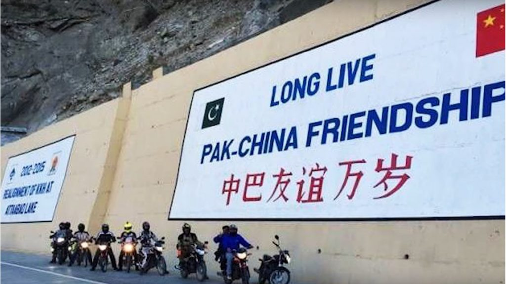 """Long live Pak-China Friendship at the Gwadar Port is turning into a full-scale commercial port and a key element of the greater China-Pakistan Economic Corridor (CPEC).  Photo by: Express."