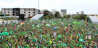 Marcha Verde in Santo Domingo, Dominican Republic. Photo by: Marcha Verde.