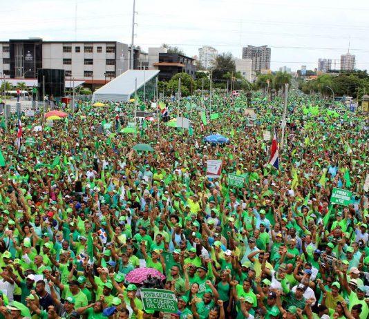 Marcha Verde in Santo Domingo, Dominican Republic. Photo by: Marcha Verde.
