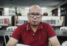 Filipino registered nurse, Carlo Tabalina. Photo by: Ryan Abello.