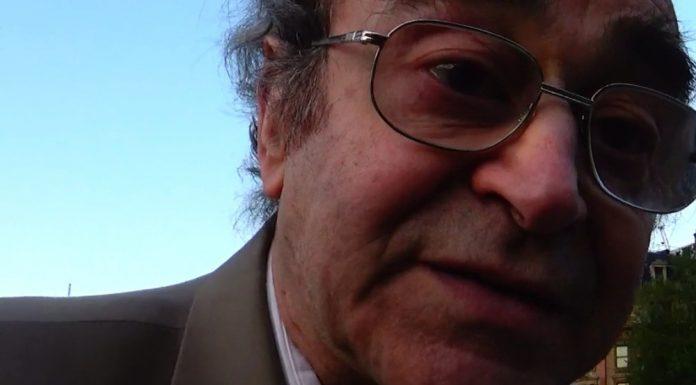 Alberto Portugueis interview about demilitarization. Image by: ViaNews.