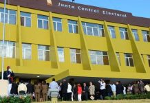 Junta Central Electoral in the Dominican Republic.
