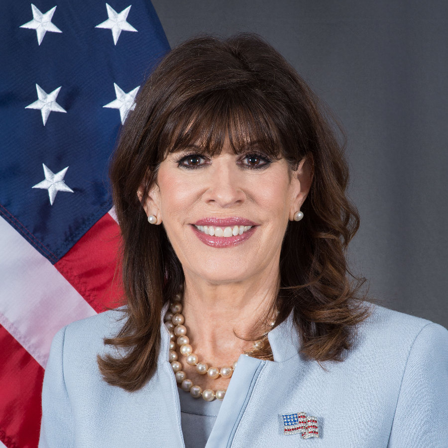 Robin S. Bernstein, Ambassador to the Dominican Republic.  Image by: U.S. Department of State.