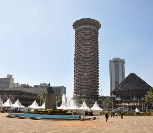 Kenyatta International Convention Centre in Nairobi, Kenya. Photo by: Jorge Láscar.