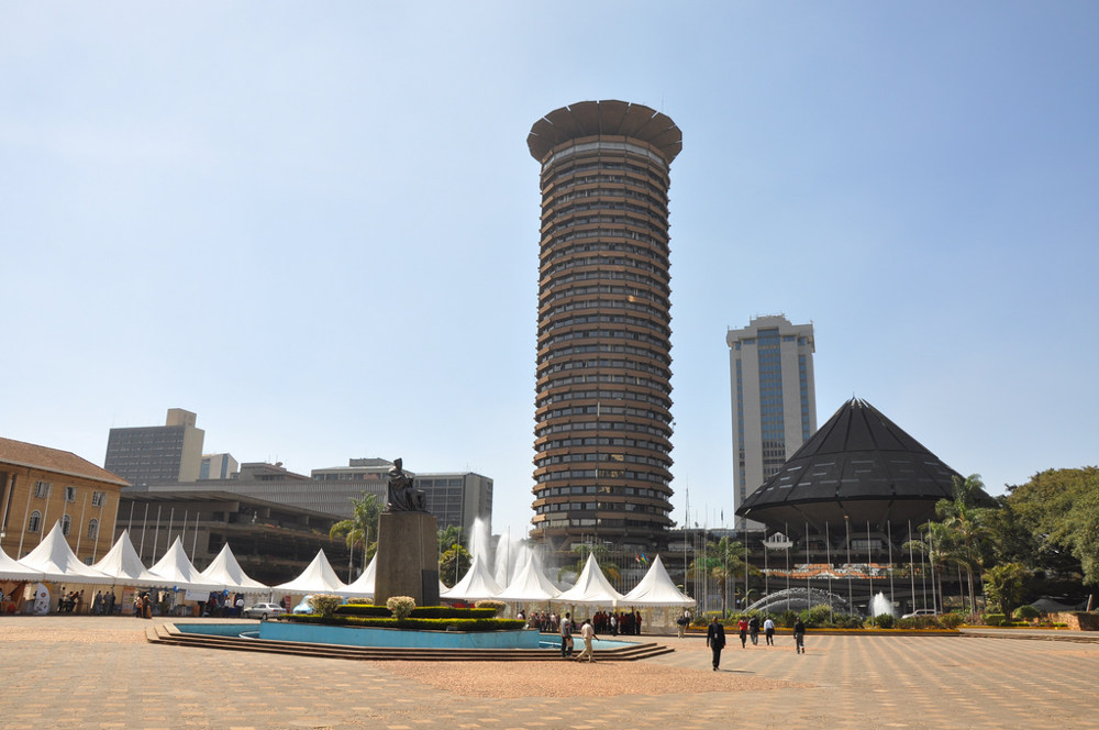 Kenyatta International Convention Centre in Nairobi, Kenya. Photo by: Jorge Láscar.