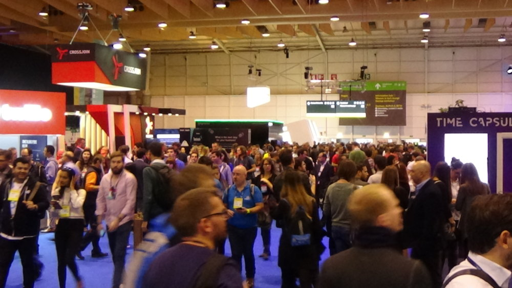 Web Summit. Photo by: ViaNews.
