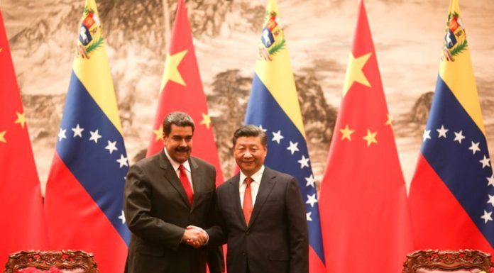 Venezuelan President, Maduro, with the Chinese President, Xi Jinping, during his state visit to China. Photo by: @PresidencialVen / Twitter.