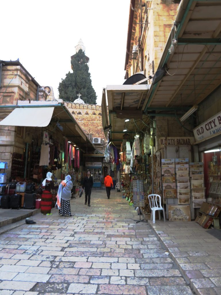 Street in the Old City of Jerusalem. Photo by: Joshua Stein.
