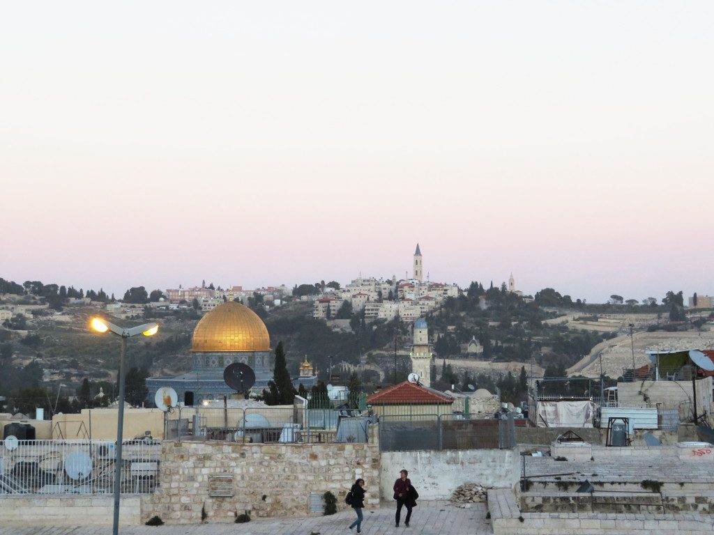 The Old City of Jerusalem. Photo by: Joshua Stein.