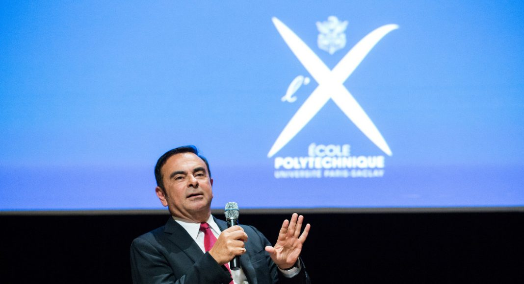 Lecture by Carlos Ghosn (X 1974), Chairman and CEO of the Renault-Nissan Alliance at the Ecole Polytechnique