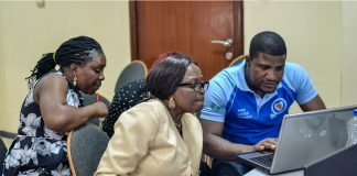 WIki Loves Women Event Women In Social Services- Promoting SDG in Nigeria. Photo by Kaizenify.