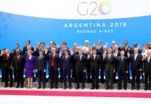 All leaders of the G20 summit in Buenos Aires, Venezuela. Photo by Kremlin.ru