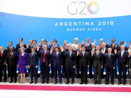All leaders of the G20 summit in Buenos Aires, Venezuela. Photo by Kremlin.ru