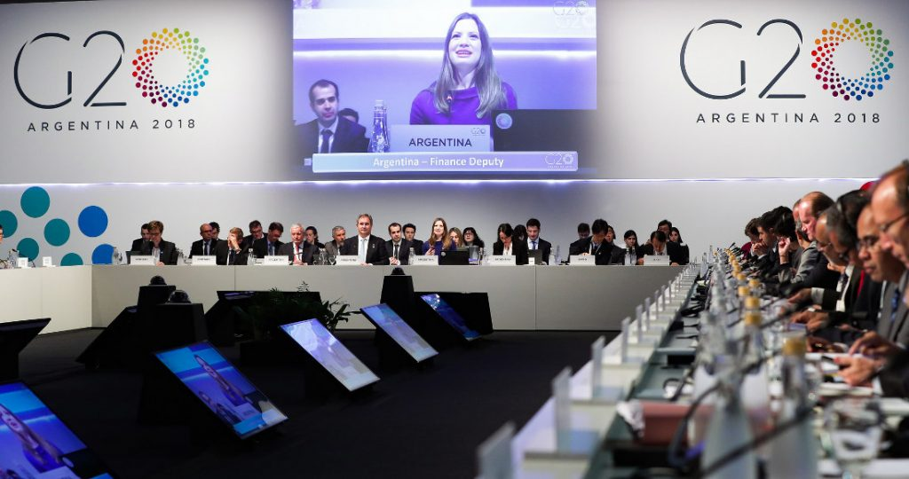 4th Meeting of Finance and Central Bank Deputies at the G20 summit in Buenos Aires. Photo by: G20 Summit.